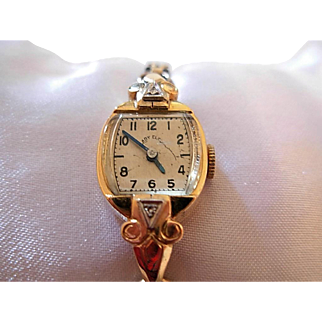 14K Lady Elgin Wrist Watch