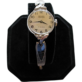 Vintage GRUEN PRECISION 17 Jewels Ladies Watch - 10K RGP Bezel