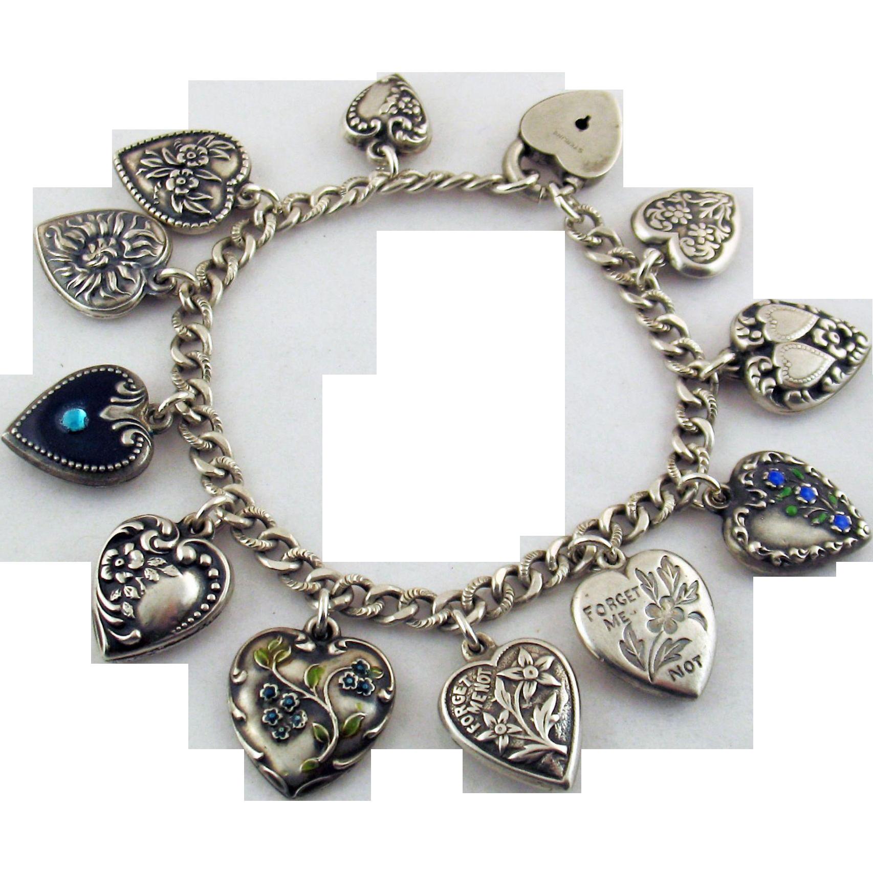 Vintage Heart Bracelet 35