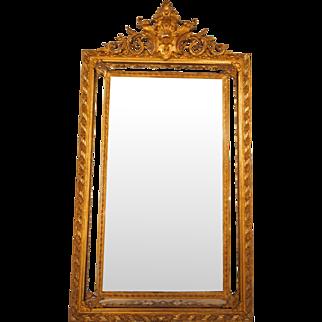 Napoleon III gilded  mirror