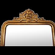 Napoleon III parcel gilt mirror