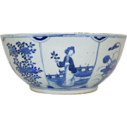 Beautiful Canton Bowl, 19th/Possibly 18th Century