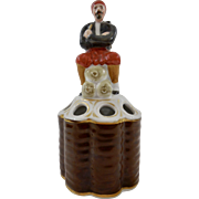 19th Century French Porcelain Pipe Stand