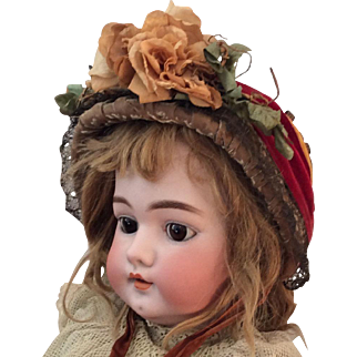 Paris Label ~1880 Doll Hat ~ stunning!