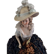 Elegant Antique Half doll Arms away~ Exceptional!