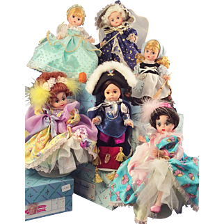 Madame Alexander Classics:   Cinderella~6 doll set~ Original boxes, Excellent condition