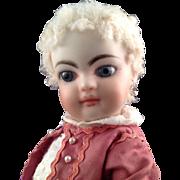 "B Walter OOAK Artist Doll~ All Bisque Type 7.5""~"