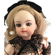 B Walters~ OOAK Artist Doll~ All Bisque Type 7.5""