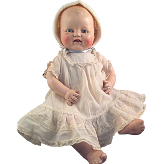 """""""Baby Dimples"""" by Horsman~ Tagged Original dress~ 18 inches of smiles!"""