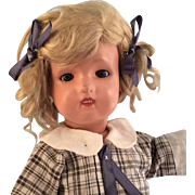 "~Schoenhut~ Sleep Eyes ~Miss Dolly ~17"" Very nice!"