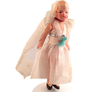 All Bisque~ Hertwig Bride~ 3.75 inches