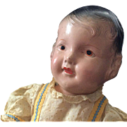 1940 Composition Doll with Provenance~ Airplane doll