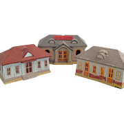 Vintage 'Union Station' train depot- 3 buildings~