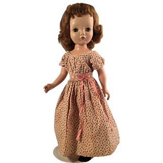 """Madame  Alexander  18"""" Winnie Walker Doll in tagged dress~  Hard plastic"""