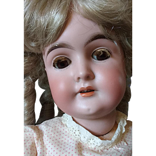 Karl Hartman~ 25 inch~ Perfect Bisque German Doll~ Original clothes~ Fine condition