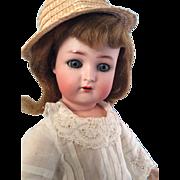 16 Inch~ K*R  S&H~ Beautiful Antique bisque head German doll~