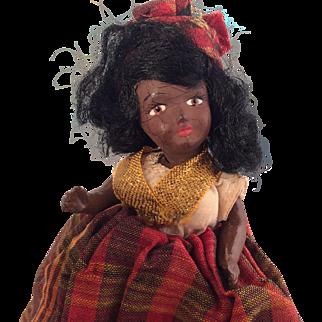 Mulatto Mignonette~ Black French Creole Souvenir~ 6 inches