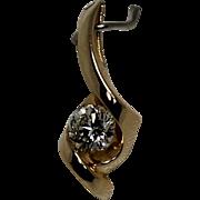 Gorgeous Diamond Pendent, VS Qualtiy, 1/3 Carat, 14K YG