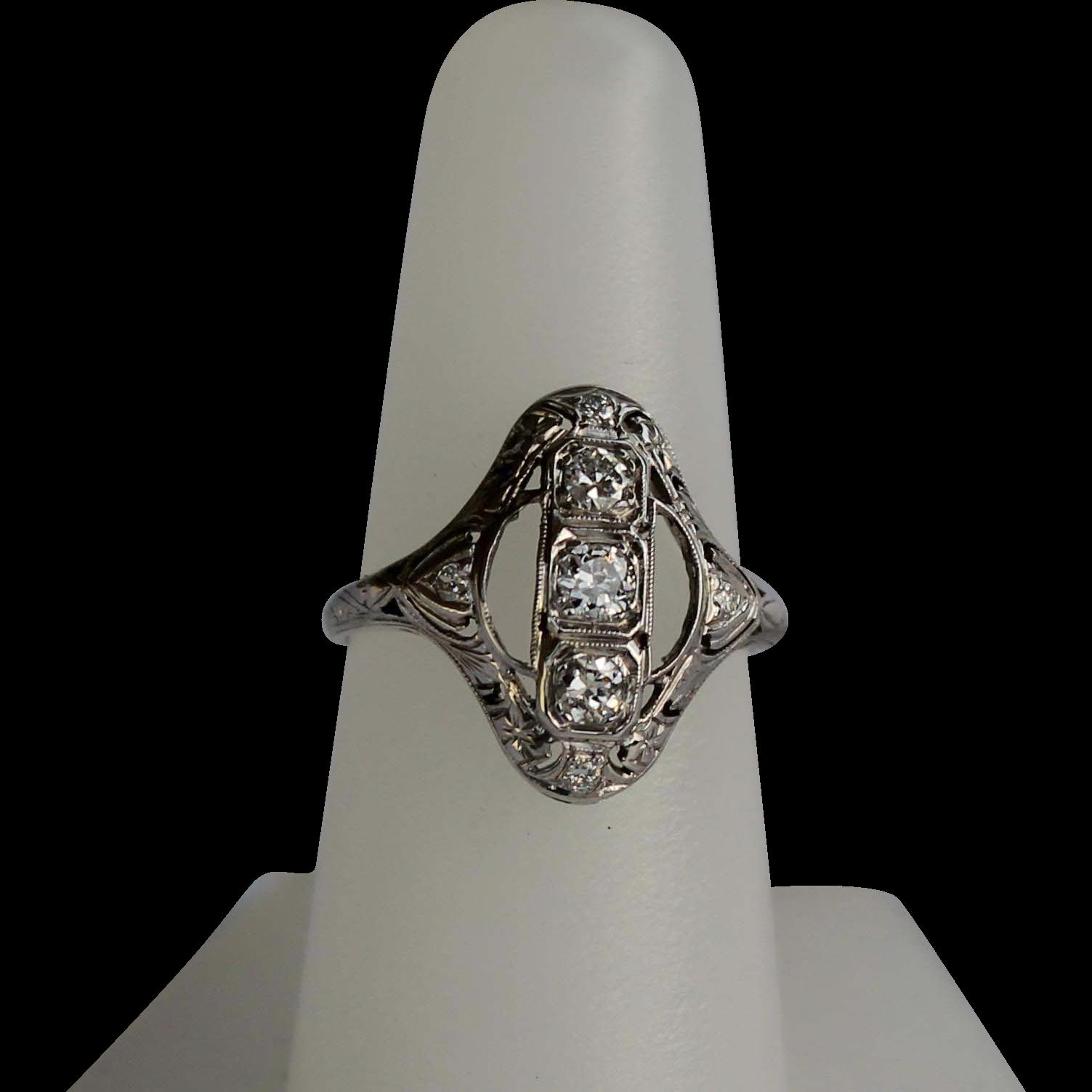 Art Deco Vintage Ring 78