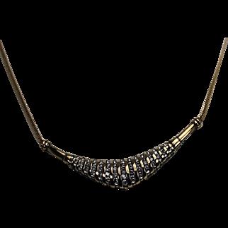 Diamond Necklace, 10K YG