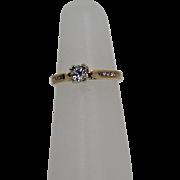 OEC Diamond Ring, 14Kt YG no