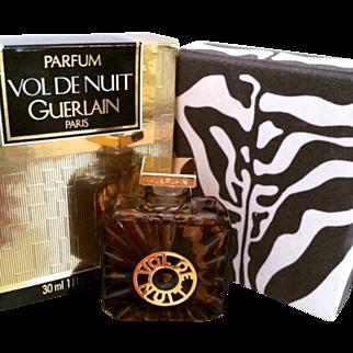 Vintage Vol De Nuit Parfum in 1 oz Sealed Propeller Bottle
