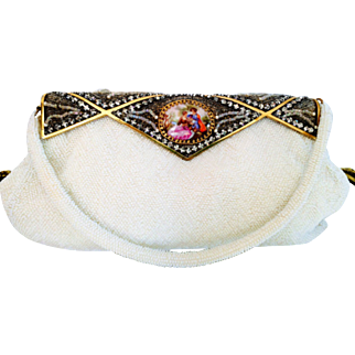 Delill French Beaded Purse