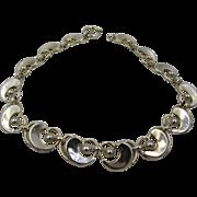 Rare Napier Sterling Silver Necklace Choker