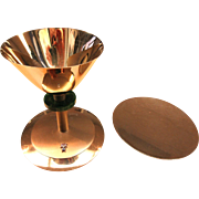 + Knights of Columbus All Sterling Silver Chalice & Paten Gold Plated