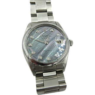 Rolex Air King Oyster Perpetual precision Date SS Manuel Wind Circa 1969