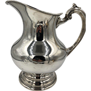 Vintage Reed & Barton Sterling Silver Water Pitcher X766
