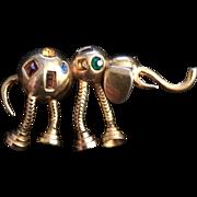 Retro Elephant Pin
