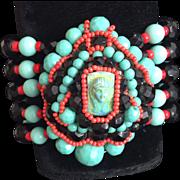 Egyptian Revival Vintage Bracelet