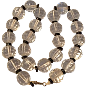 1920's Cut Crystal Necklace