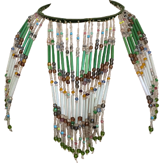 1920's Wild Lampshade Necklace