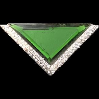 Art Deco Geometric Clip