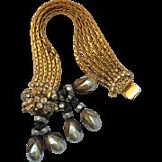 Fabulous Drippy Vintage Faux Pearl Bracelet