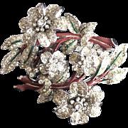 Coro Duette Trembler Flower Pin