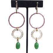 Delicate Drop Vintage Earrings