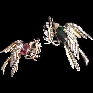 Eisenberg Original Pair of Doves Pin Set