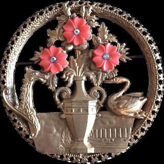 Vintage Asian Motif Pin