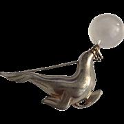 Circus Seal Balancing Jelly Ball Pin