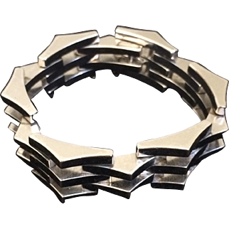 Mid-Century Linked Bracelet