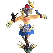 Not So Scary Scarecrow Pin