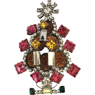 Larry Vrba Christmas Tree Pin