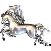Lovely Wild Horses Pin