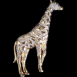 Coro Giraffe Pin