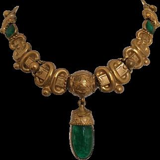 Victorian Paste Necklace