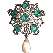 Antiquey Schreiner Pin/Pendant