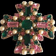 Vogue Maltese Brooch/Pendant